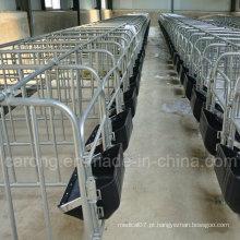Caixa de gestação de suínos para equipamentos de fazenda de suínos