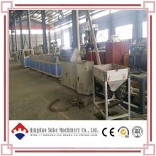 Línea de extrusión de producción de tableros de PVC de madera y plástico WPC