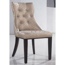 Luxueux soild bois restaurant chaise à manger XYD052