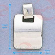Tirador / deslizador de cremallera cuadrado (G21-543AS)