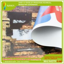 Frontlit hintergrundbeleuchtete PVC-Flex-Fahne / Blackout PVC-Flex-Fahne für das Drucken