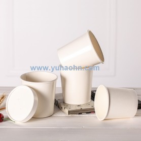 Soup Cup with Paper Lid 12oz