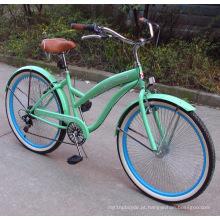 Bicicletas populares da praia da parte traseira 7speed da parte superior (FP-BCB-C037)