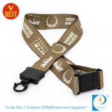 China Personalized Design Customized Logo 25 mm Full Color Printed Lanyards for Sales