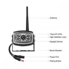 Sistema de Monitor de Câmera Digital Sem Fio de Backup 7 polegadas
