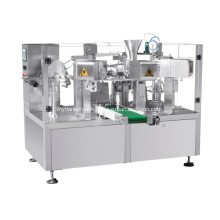 Rotary Packing Machine With Screw Weigher For Powder