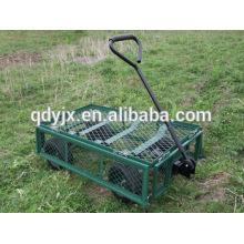 carrinhos de mão e carrinhos de jardim malha painéis laterais com 4 rodas TC1841