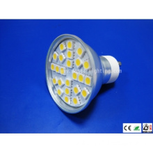 LED Spot GU10 Lamp Cup 24SMD 5050