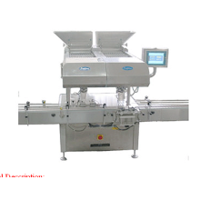 Capsule and tablet counting and bottle filling machine