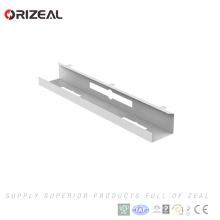 Hohe Qualität Einfache Installation outdoor elektrische perforierte Metall Kabelwanne Preise halbiert