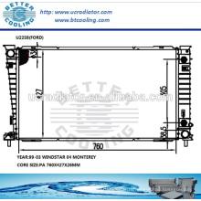Алюминиевый радиатор Форд windstar 99-03/Монтерей 04 ОЕМ:1F2H8005AA/1F2Z8005AA