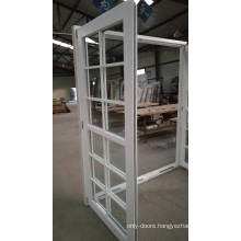 ventilation french window with grille design