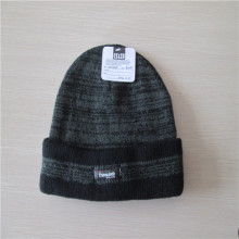 men's Knit pattern cable beanie