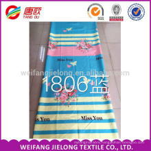 100% Polyester pigmemt printed Fabric 65gsm Cheapest for Bedsheet