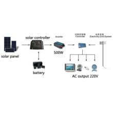 500W off-Grid Solar System 100% TUV Standard