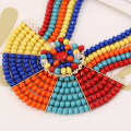 Bohemian Style Necklace&Earring Resin African Jewelry Sets