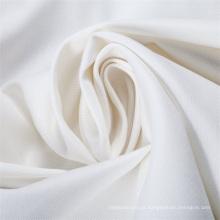 Uso branco liso da tela do Polycotton da folha de cama