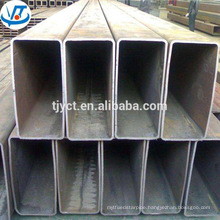 Square rectangular low carbon ms hollow steel tube / ms steel pipe