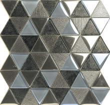 Elegent アメリカン スタイル金属外観ガラス モザイク