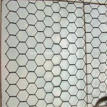 Le PVC a coté la fabrication de fil hexagonale pour la maison de poulet