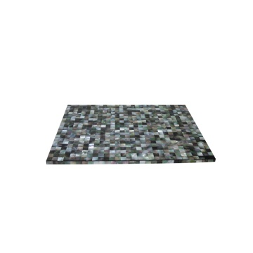 China OEM for Mother of pearl Placemat, Placemat direct from Jiujiang Tengjun Shell Arts and Crafts Co., Ltd. in China (Mainland) Luxury Hotel Black Mother of Pearl Placemat export to Benin Suppliers