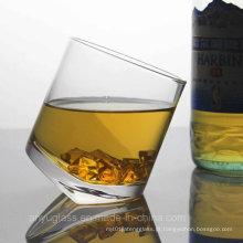 Máquina sem chumbo Copo de vidro de cristal fundido para vinho, licor, uísque, vodka