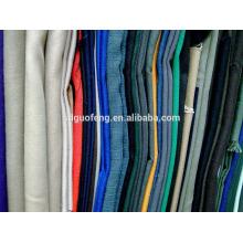 tela de la tela de la tela cruzada de algodón de tela de envío libre de China y tela de algodón 100 tela de los pantalones de algodón de la tela del algodón