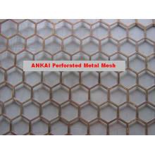 Metal perforado de alta calidad de la fábrica de Anping