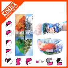 Multi-purpose tube customized bandana elastic band