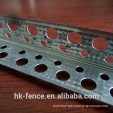 zinc plated corner molding 30*30mm 10*20mm hole 2m length