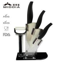 Лучший кухонный нож комплект с блоком от профессиональной фабрики