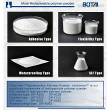 Redispersible polymer powder RDP for plastering mortar