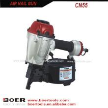 Air coil nail gun CN55