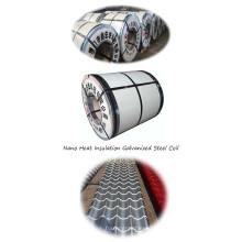 Новая технология теплоизоляции Ptrpainted Steel Coil Алюминиевая катушка Кровельный лист