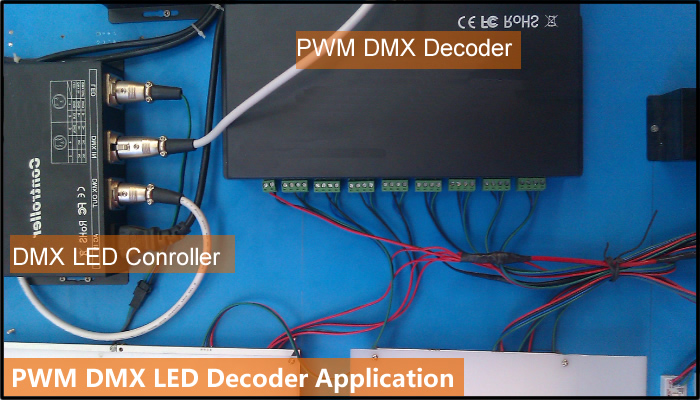 led dmx decoder
