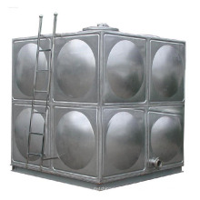 304/316 Estampage formant le réservoir de stockage d'eau de soudure d'acier inoxydable