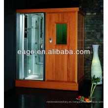 Sala de sauna de infrarrojo lejano con ducha de vapor (DS204F3)