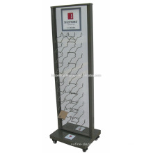 Boden Showroom Display Racks für Granit, Marmor Fliesen Display Einheit Metall Paving Wall Tile Display Rack