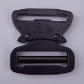 45mm Heavy Duty 18KN Steel Tactical Military Black Electrophoresis Cobra Belt Buckle