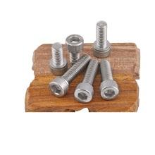parafusos sextavados de hardware de aço inoxidável