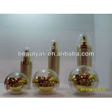 80ml Spherical acrylic lotion bottle