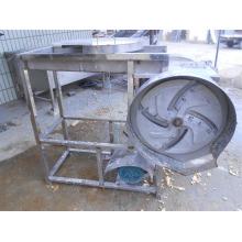 Jengibre fresco de alta calidad deshidratado vegetal línea de pre-procesamiento