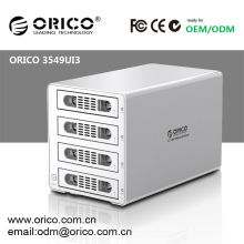 ORICO 3.5'' usb3.0 sata hdd external enclosure with 1394a/1394b firewire interface,for iPhones