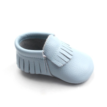 New Style America Style Wear-Resistent Blue Baby Moccasins