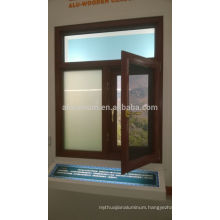 Aluminium and Wood Cladding Windows
