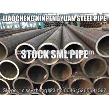 45 # SA 1045 Tuyau en acier sans soudure sch80 de 12 po de xpy