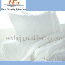 De alta qualidade por atacado White Plain Home Cotton King Size Quilt