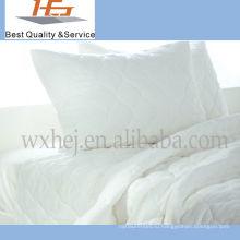 Высокого Качества Оптом Белый Простой Домашний Хлопок Король Размер Одеяло