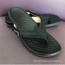 Large Size Slippers Female Summer New Style Flat Bottom Casual Flip-Flops Foot Massage Feet Rubber Slippers