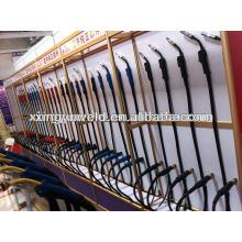 Euro tipo soldadura Conector de cable / conector de cable rojo